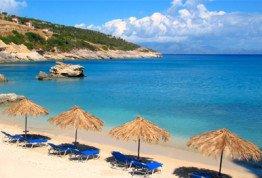 Отдых на море на курорте Солнечный день